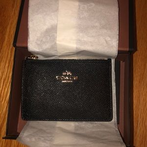 BRAND NEW mini coach key chain wallet